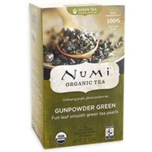 NUMI GUNPOWDER GREEN TEA 6/18CT